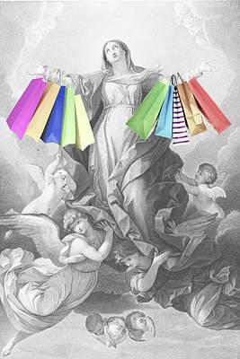 Mixed Media - Retail Rapture by Tony Rubino