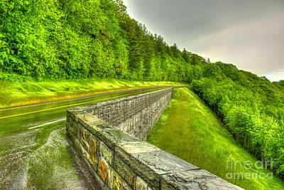 Retention The Great Smoky Mountains Art Print by Reid Callaway