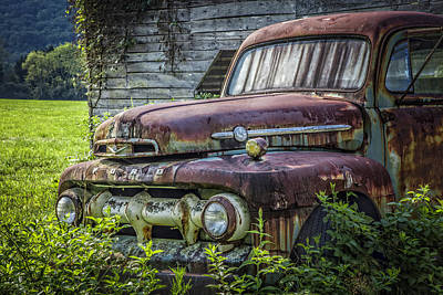 Antique Tow-truck Photograph - Retire In Style by Debra and Dave Vanderlaan