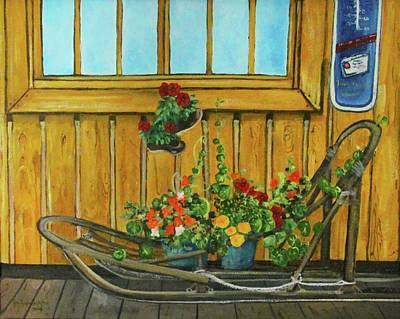 Painting - Retired by Amy Reisland-Speer