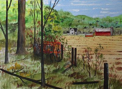 Retired And Forgotten Art Print