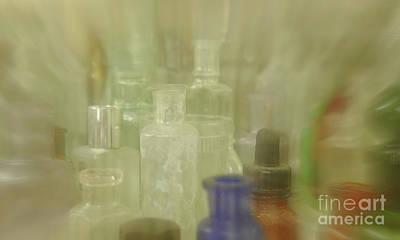 Photograph - Retired Bottles Series #2 by Lexa Harpell