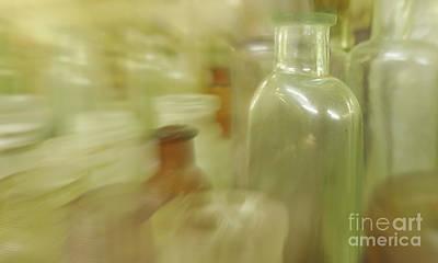 Photograph - Retired Bottles Series #3 by Lexa Harpell