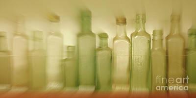 Photograph - Retired Bottles Series #5 by Lexa Harpell