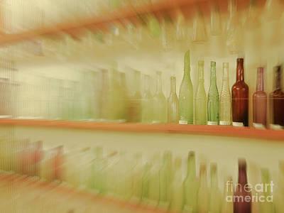 Photograph - Retired Bottles Series #6 by Lexa Harpell