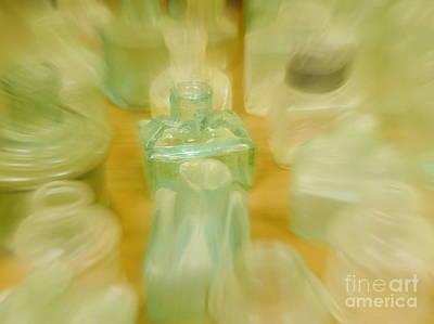 Photograph - Retired Bottles Series #8 by Lexa Harpell
