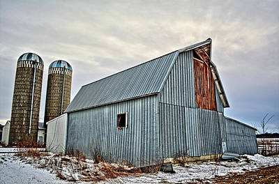 Photograph - Retired Cattle Barn by Bonfire Photography