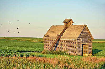 Photograph - Retired Corn Crib 2 by Bonfire Photography