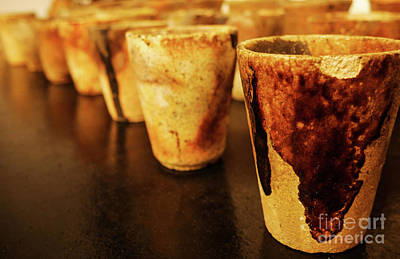 Photograph - Retired Crucible Cups #1 by Lexa Harpell