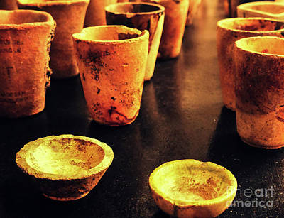 Photograph - Retired Crucible Cups #2 by Lexa Harpell