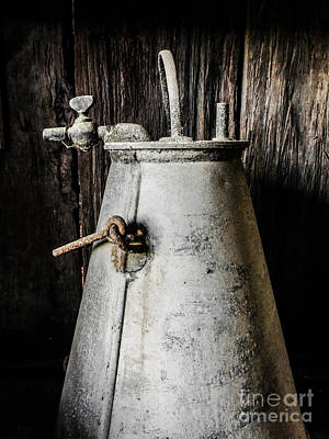 Photograph - Retired Dairy Can  by Lexa Harpell
