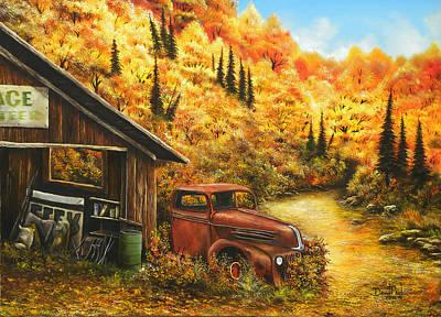 David Paul Painting - Retired by David Paul