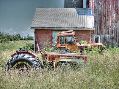 Photograph - Retired by Leslie Montgomery