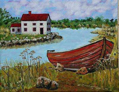 Painting - Retired by Mike Caitham