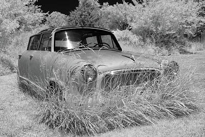 Photograph - Retired Nash Rambler by James Barber