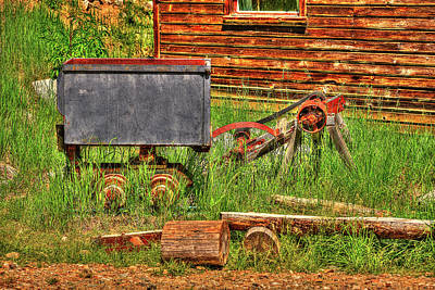 Photograph - Retired Ore Tender by Richard J Cassato