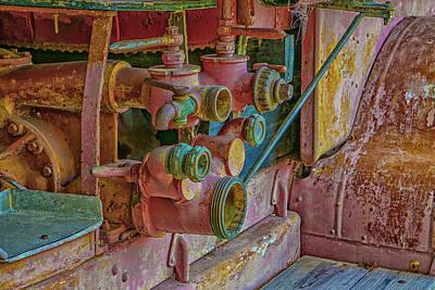 Photograph - Retired Pump by Dennis Dugan