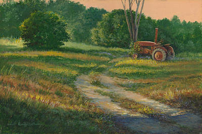 Painting - Retired by Randy Welborn
