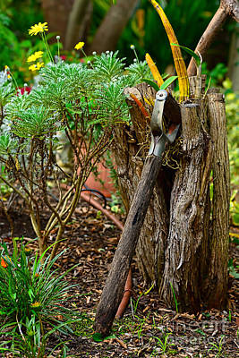 Photograph - Retired Spade by Kaye Menner