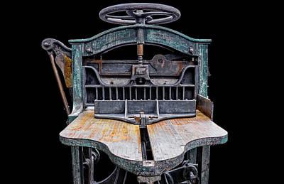 Retired Table Saw Art Print by Joseph Sassone
