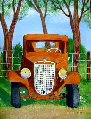 Painting - Retired by Teresa Boston