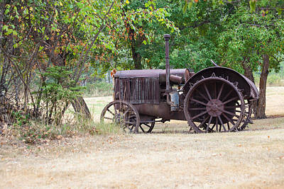 Photograph - Retired Tractor by Fran Riley