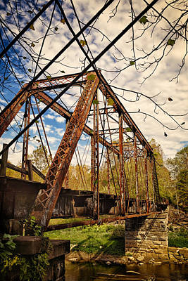 Retired Trestle Art Print