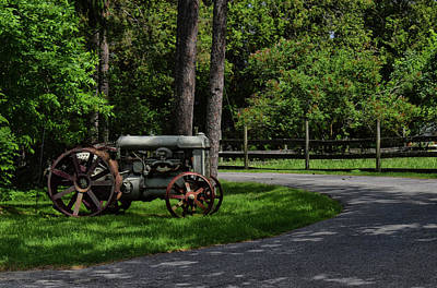 Photograph - Retired by Tricia Marchlik