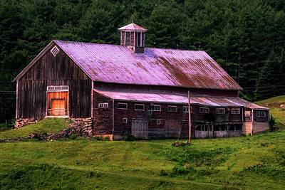 Photograph - Retired Vermont Farm by Sherman Perry