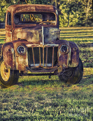 Photograph - Retired Wrecker by Linda Blair