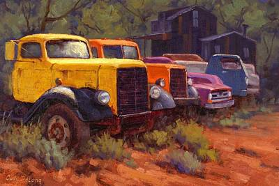 Vintage Truck Painting - Retirement Home by Cody DeLong