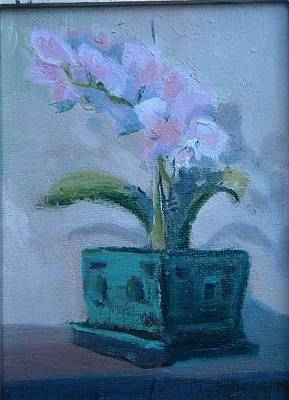 Retirement Orchid...sold Art Print by Bryan Alexander