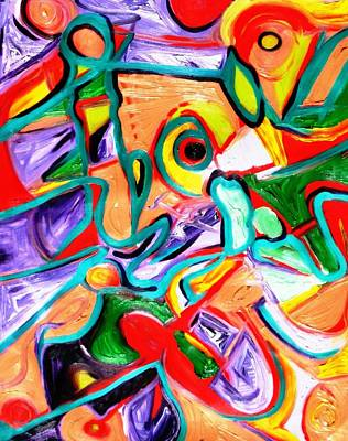 Alfredo Llana Painting - Retro by Alfredo Dane Llana