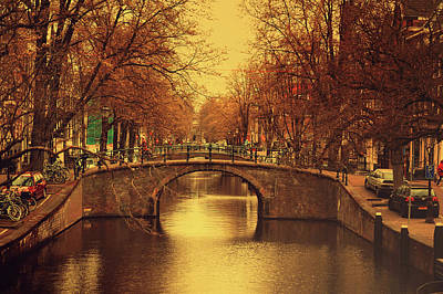 Photograph - Retro Amsterdam by Jenny Rainbow