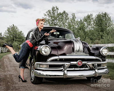 Photograph - Retro Angie 001 by Brad Allen Fine Art
