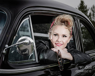 Photograph - Retro Angie 007 by Brad Allen Fine Art