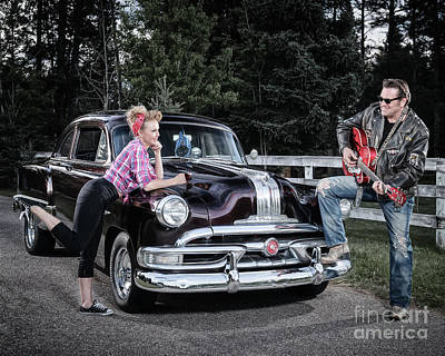 Photograph - Retro Angie 016 by Brad Allen Fine Art