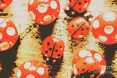 Ladybug Wall Art - Photograph - Retro Art Bug by Jorgo Photography - Wall Art Gallery