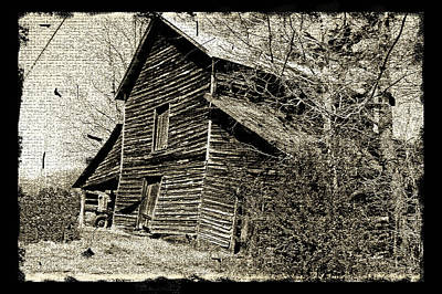 Art Print featuring the photograph Retro Barn by Larry Bishop