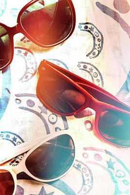 Retro Beach Fashion Print by Jorgo Photography - Wall Art Gallery