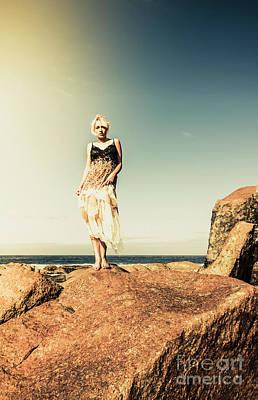 Instagram Photograph - Retro Beach Fashions by Jorgo Photography - Wall Art Gallery