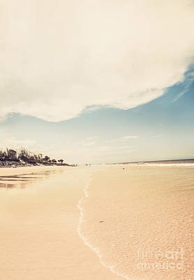 Photograph - Retro Beach Landscape Taken Bribie Island  by Jorgo Photography - Wall Art Gallery