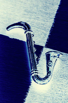 Saxophone Photograph - Retro Blues by Jorgo Photography - Wall Art Gallery