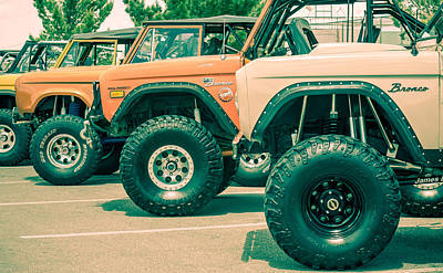 Photograph - Retro Bronco Heaven by SR Green