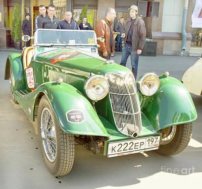 Photograph - Retro Car Riley Sprite by Irina Afonskaya