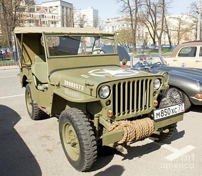 Photograph - Retro Car Willys by Irina Afonskaya