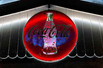 Photograph - Retro Coca Cola by David Lee Thompson