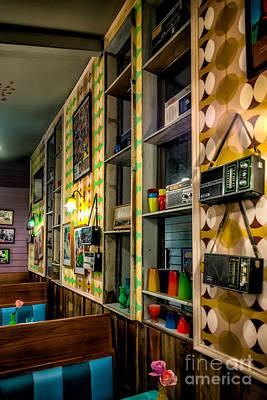 Coffee Shops Digital Art - Retro Coffee Shop by Adrian Evans