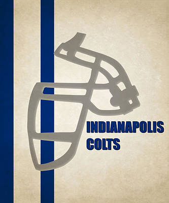 Indianapolis Photograph - Retro Colts Art by Joe Hamilton