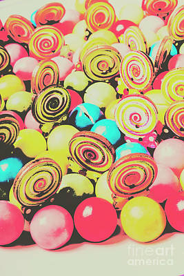 Retro Confectionery Art Print by Jorgo Photography - Wall Art Gallery